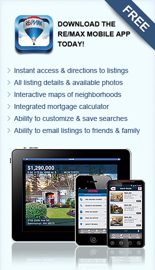 Download the RE/MAX Mobile App